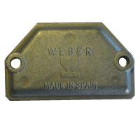 Cold Start Blanking Plate - Genuine Weber 40 DCOE Carburettor